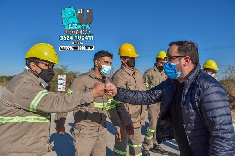 Pérez Pons: La ruta 1 pavimentada potencia el desarrollo del Departamento Bermejo