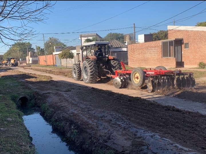 Arreglo y mantenimiento de calles en Villa Prosperidad