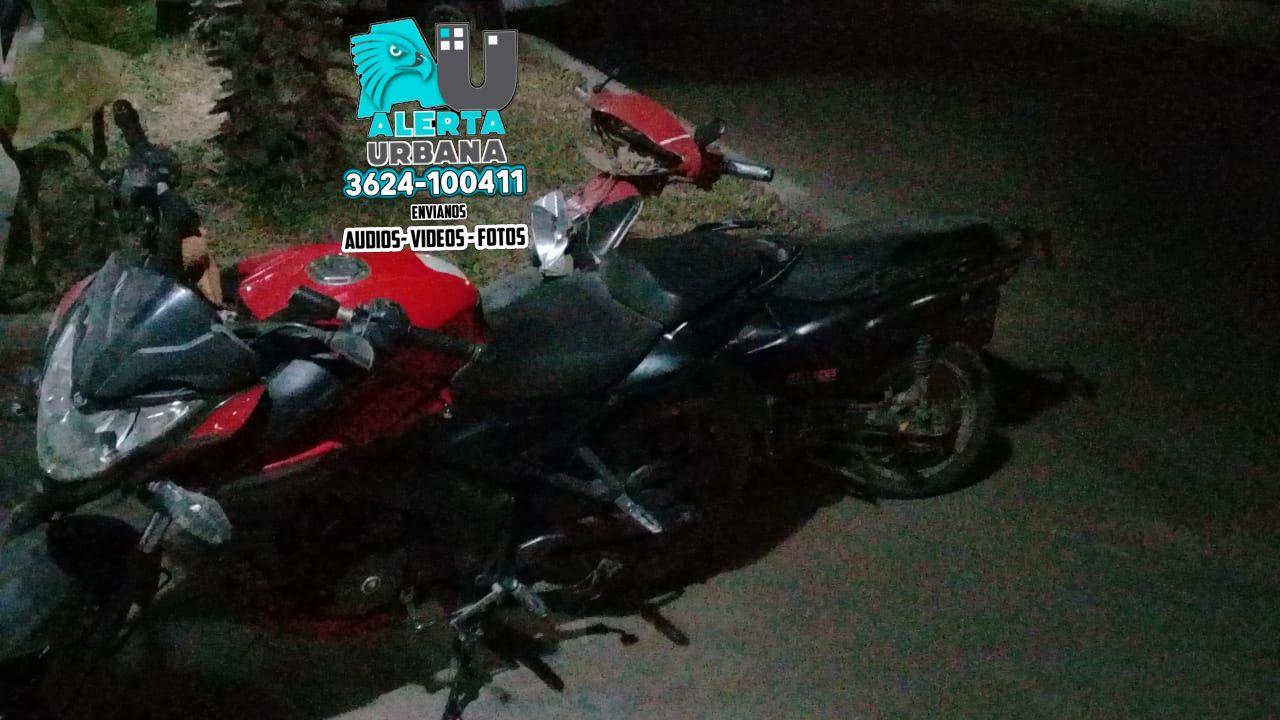 Un hombre perdió la pierna en un accidente entre motociclistas