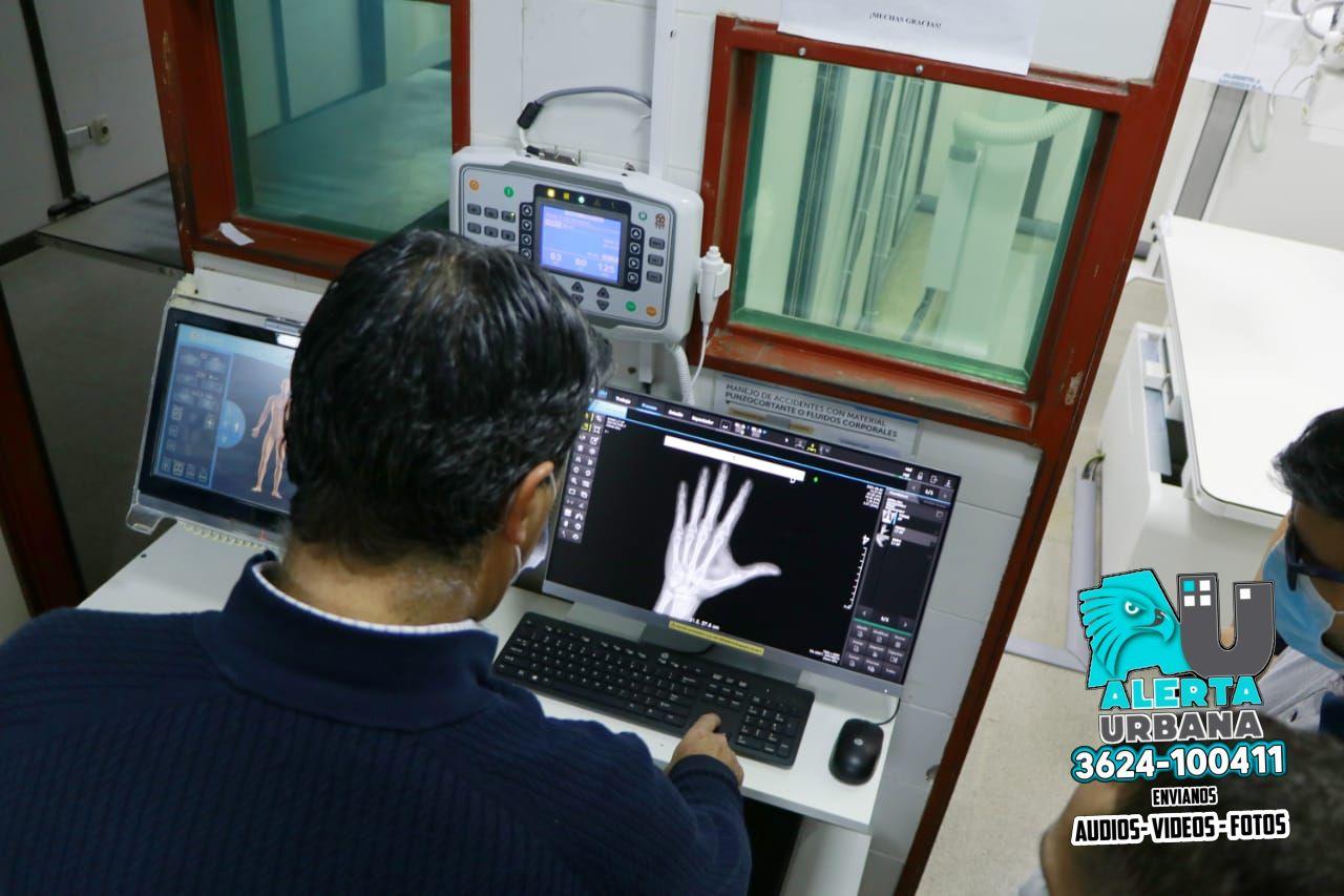 Nuevo sistema de Rayos X en el Hospital Perrando