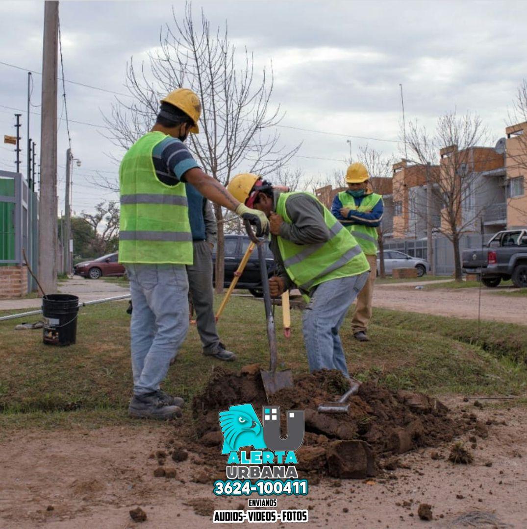 Zona Norte: Sameep avanza con obras que garantizan saneamiento