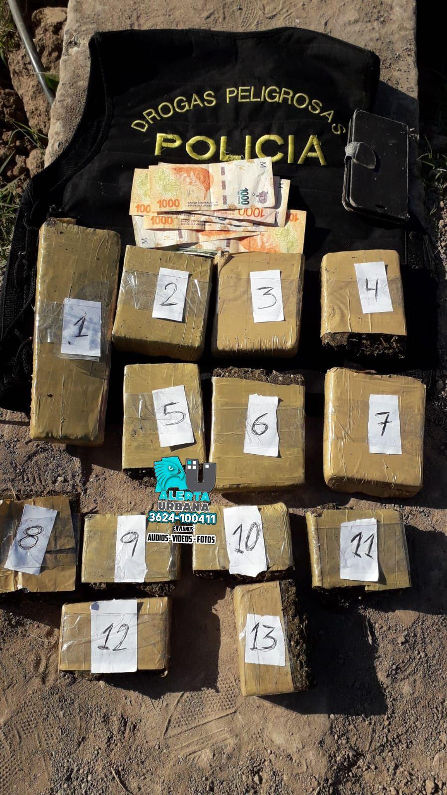 Un detenido por llevar 4 kilos de marihuana