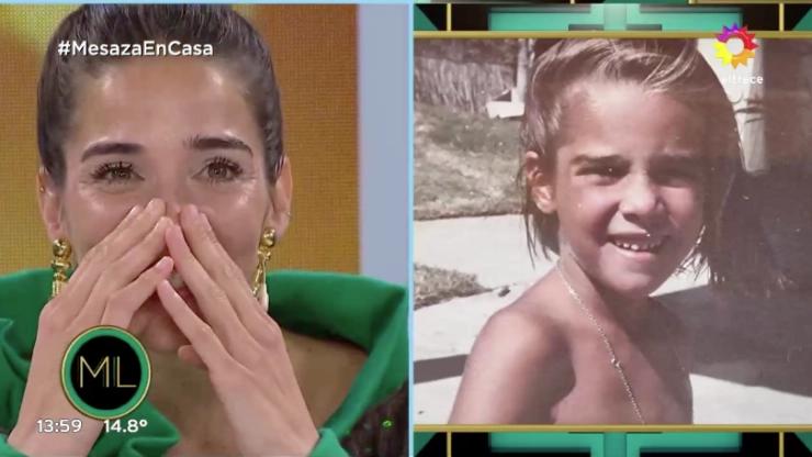 Juana Viale y las fotos inéditas de su infancia