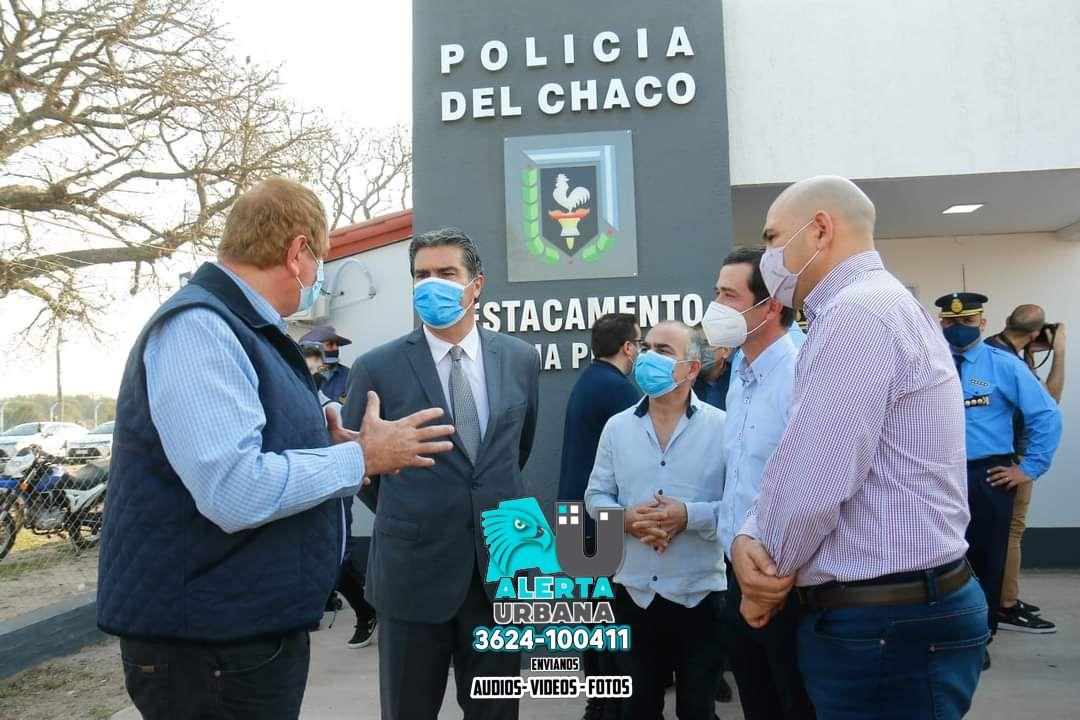 Colonia Popular: inauguraron el Destacamento Policial