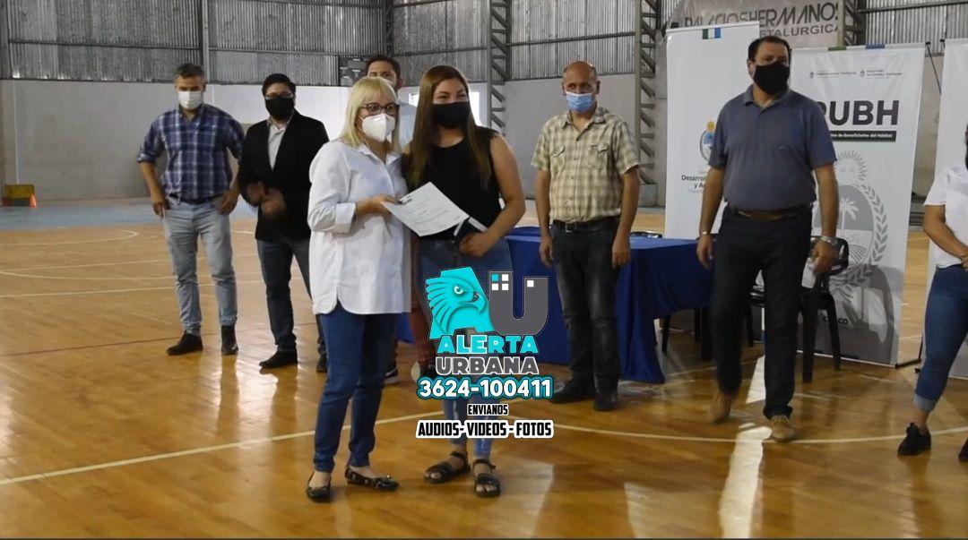 Fontana: entregaron 257 Certificados RUBH en el barrio Malvinas Argentinas