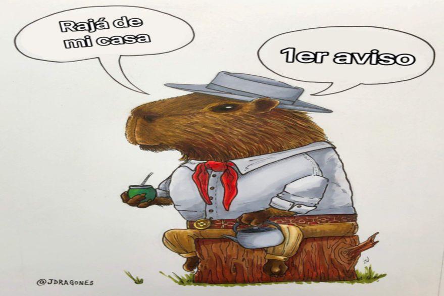 Los mejores memes sobre los carpinchos de Nordelta tras el reclamo de los vecinos