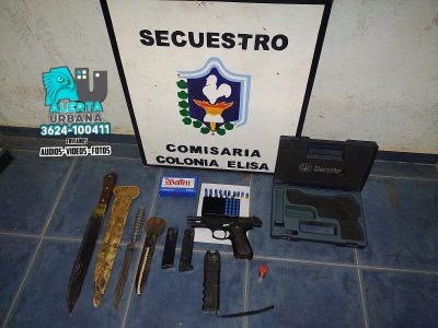 Un detenido por amenazas y abuso de armas