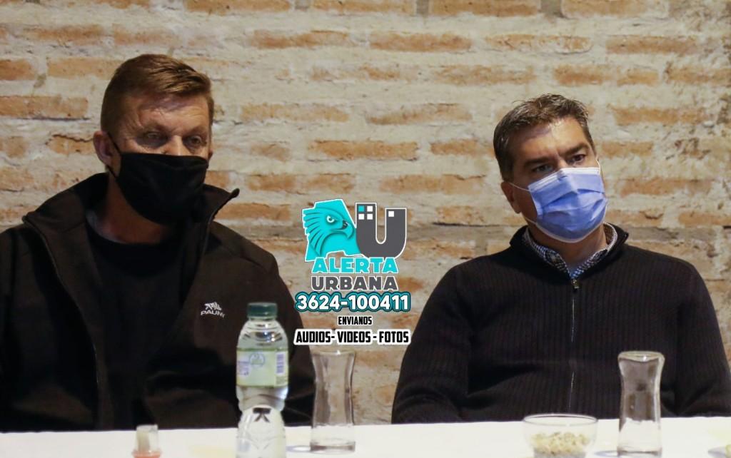 Capitanich se reunió con referentes de la Federación Agraria Argentina de Sáenz Peña