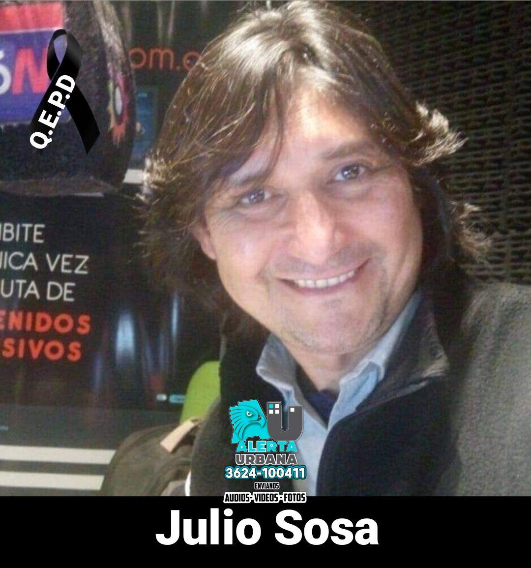 Murió Julio Sosa