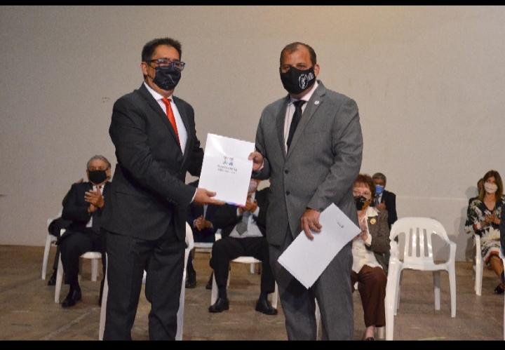 El intendente Gustavo Martínez exhortó a los abogados a seguir trabajando por Resistencia