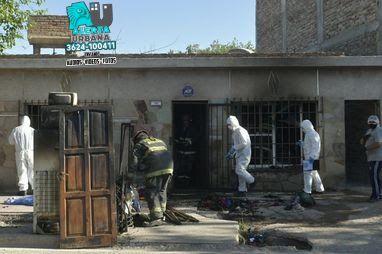 Mendoza: Dos hermanos de 3 y 5 años murieron al incendiarse su casa