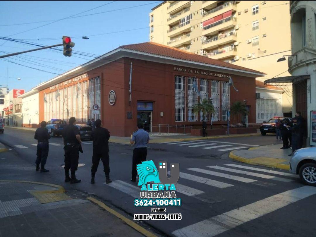 Corrientes: falsa amenaza de bomba obligó a evacuar el Banco Nación