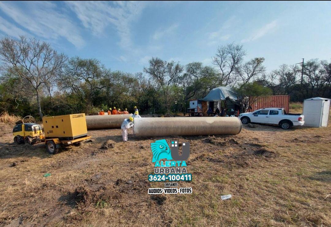 Sameep trabaja para mejorar el servicio de agua y cloacas en Sáenz Peña