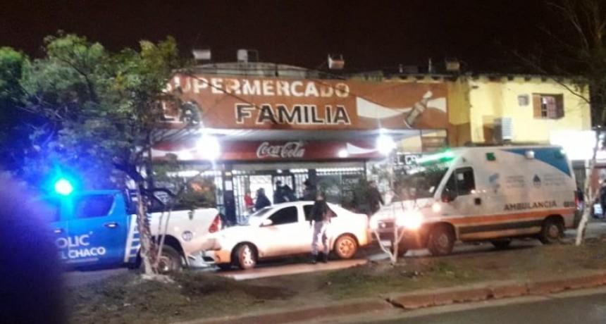 """Robo en supermercado """"La Familia"""" de Av. Alberdi"""