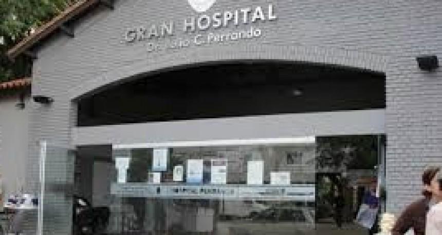 Paro sectorizado en el Hospital Perrando