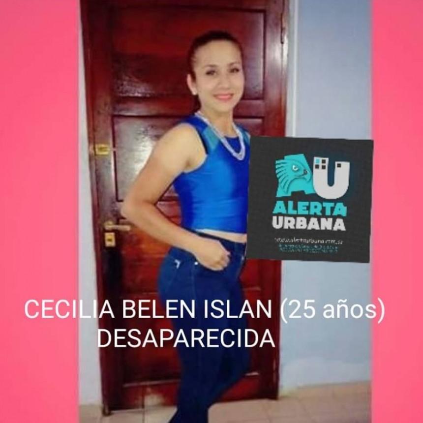 Continúa la búsqueda de Cecilia Belén Islan