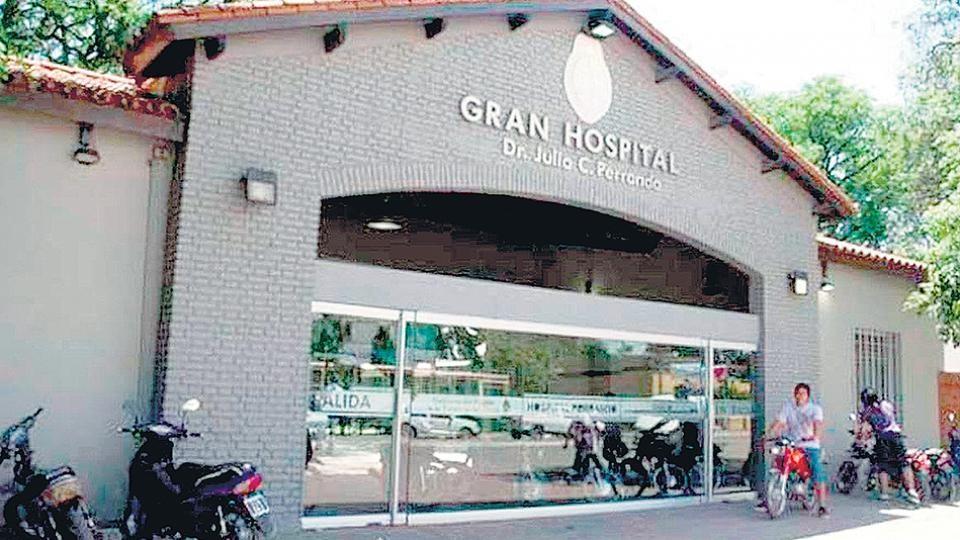 UPCP reclama falencias de distintos servicios y se manifestó en el Hospital Perrando.
