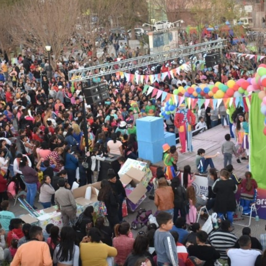 El tren de la alegría, cerró con gran éxito el mes dedicado a los niños