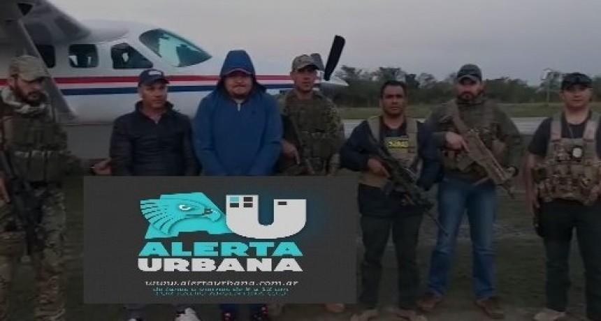 """Operación Ferro: detienen en Paraguay a """"El Gordo"""" Saucedo el segundo más buscado de la causa por narcotráfico en Itati - Corrientes"""