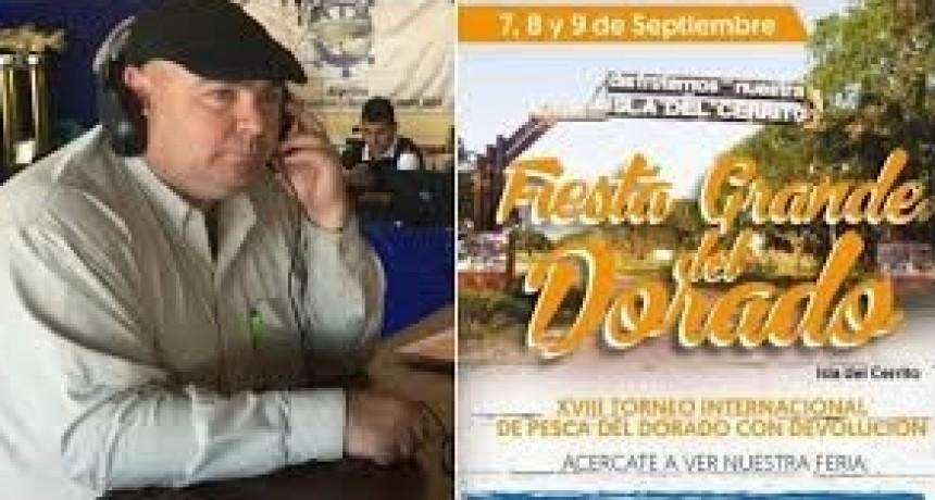 Todo listo en la Isla del Cerrito para la Fiesta Grande del Dorado en su 19° edición