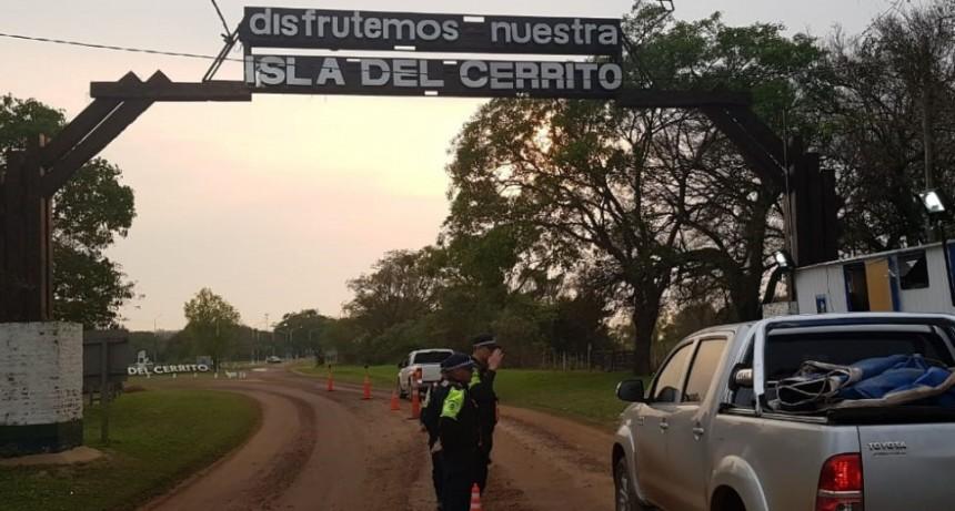 Isla del Cerrito: culminó la Fiesta Grande del Dorado y el operativo de control de la Policía Caminera
