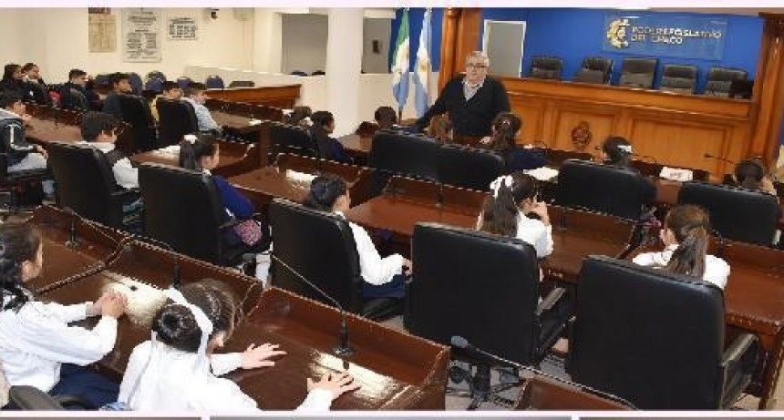 El Programa de Participación Juvenil de la legislatura chaqueña ya seleccionó a 32 estudiantes secundarios para la sesión del jueves 19