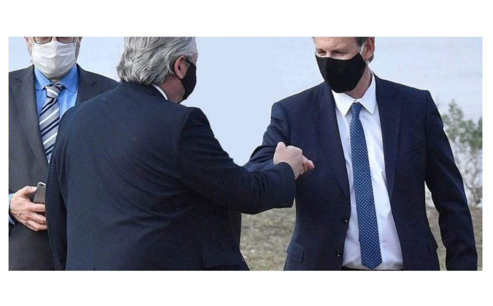 El gobernador de Entre Ríos, dio positivo y estuvo con el presidente Fernández y otros gobernadores.