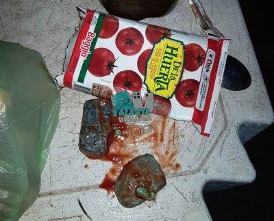 Barranqueras: joven quedo detenido al llevar droga en el puré de tomates.