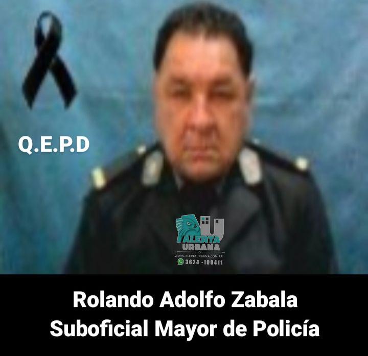 Sáenz Peña: falleció el Suboficial Mayor, Rolando Adolfo Zabala