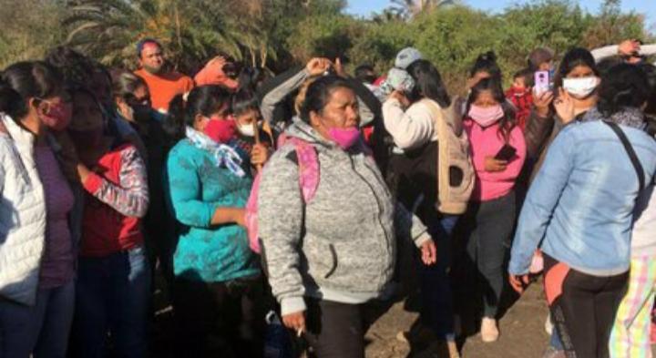 """Las amenazas, extorsiones y estafas de Yamila Veleizán, la """"Milagro Sala 2"""" que encabeza una masiva toma de tierras en Salta"""