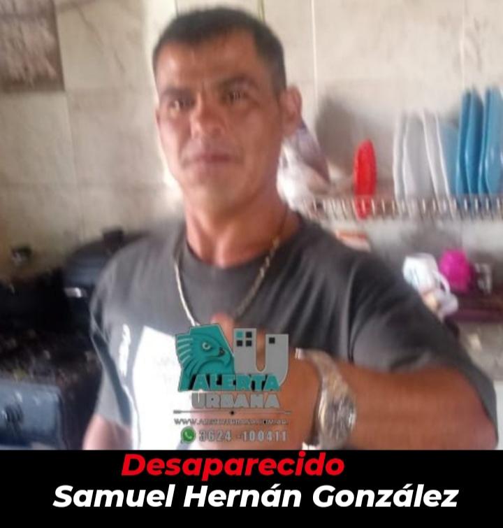 Juan J. Castelli: buscan el paradero del ciudadano Samuel Hernán González