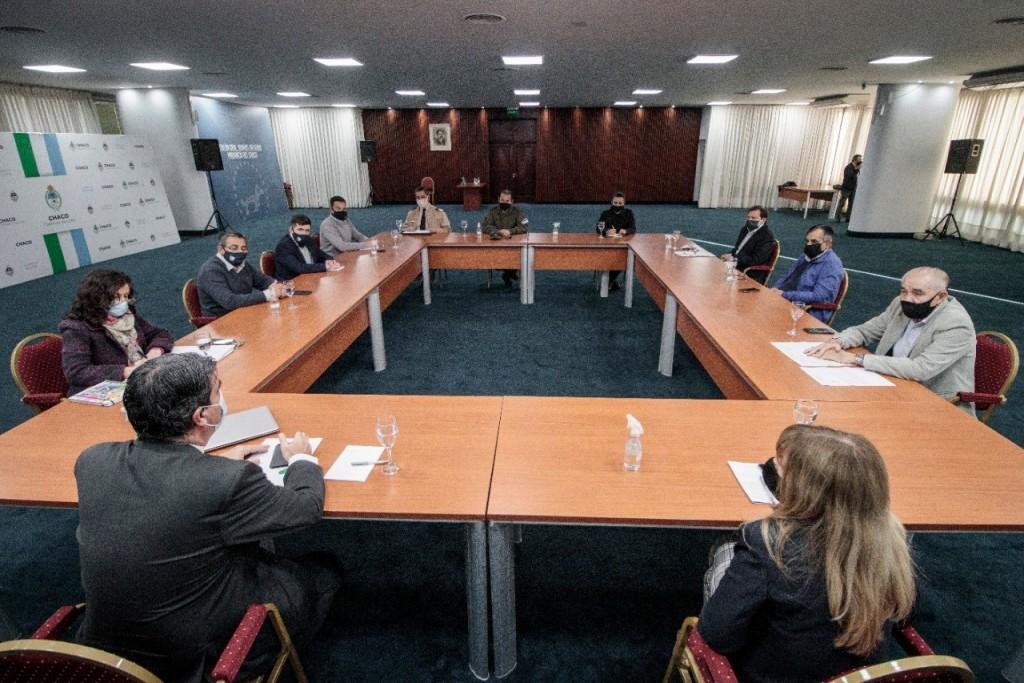 Gobierno y Poder Judicial  avanzan en definición de protocolos de actuación ante faltas vinculadas a la pandemia.