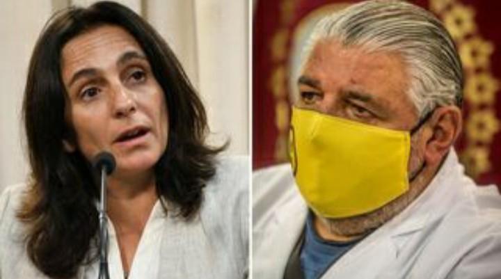 Gustavo Sáenz desplazó a la ministra de Salud Josefina Medrano: su reemplazo será José Esteban