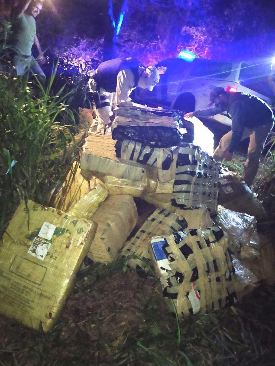 Otro golpe al narcotráfico: decomisan un cargamento de más de 1.400 kilos de marihuana