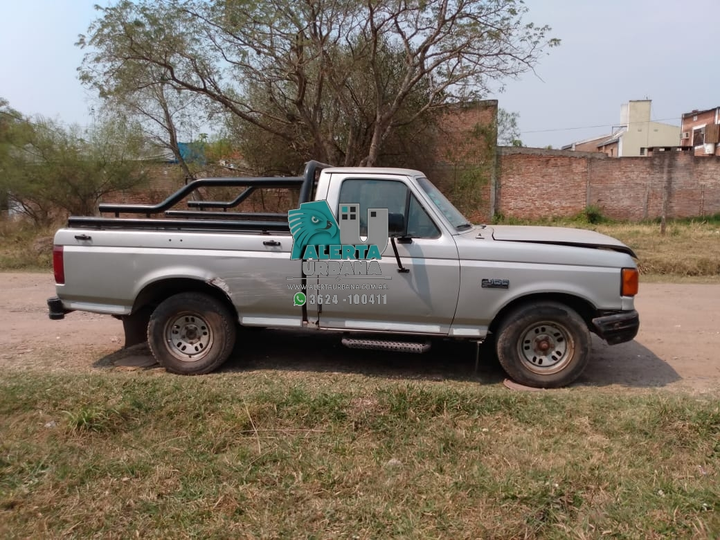 Recupero su camioneta luego de.dos años de haber sido sustraída.
