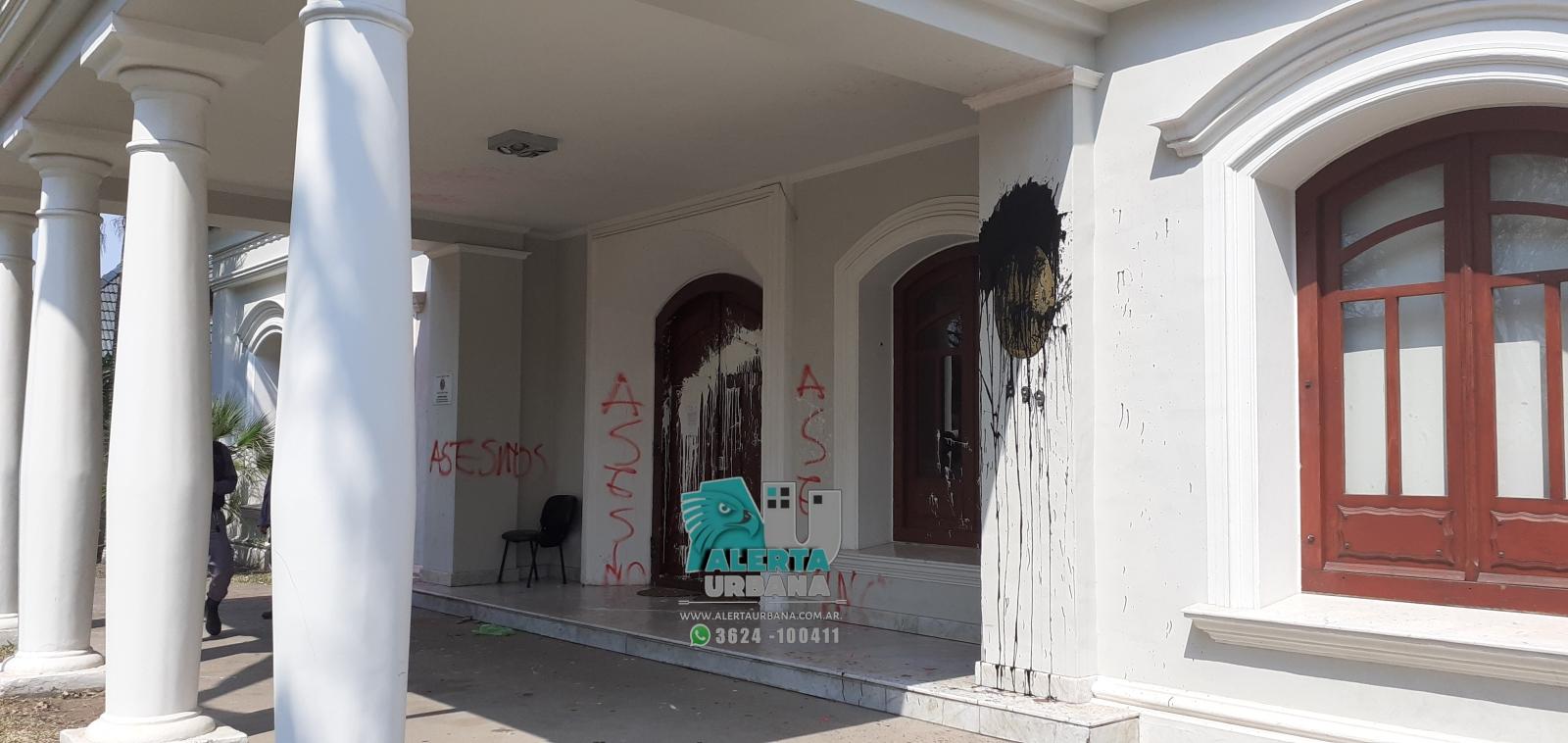 Legisladores Chaqueños repudiaron el ataque al Consulado de Paraguay.