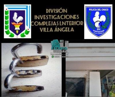 Villa Ángela: terminaron tras las rejas por intentar ingresar a un local.