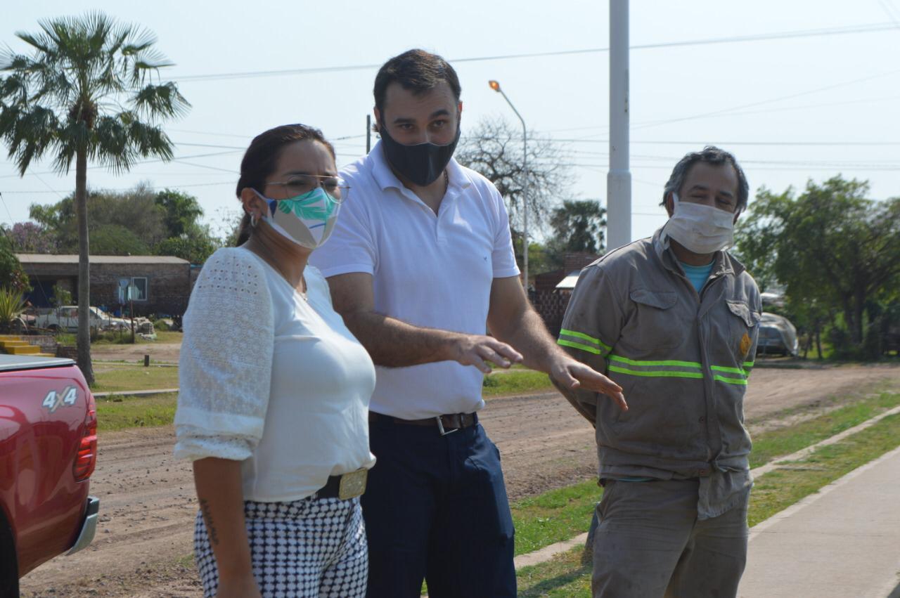 Barranqueras: Municipio puso en marcha el Plan Director de Desagües Pluviales en lagunas y canales