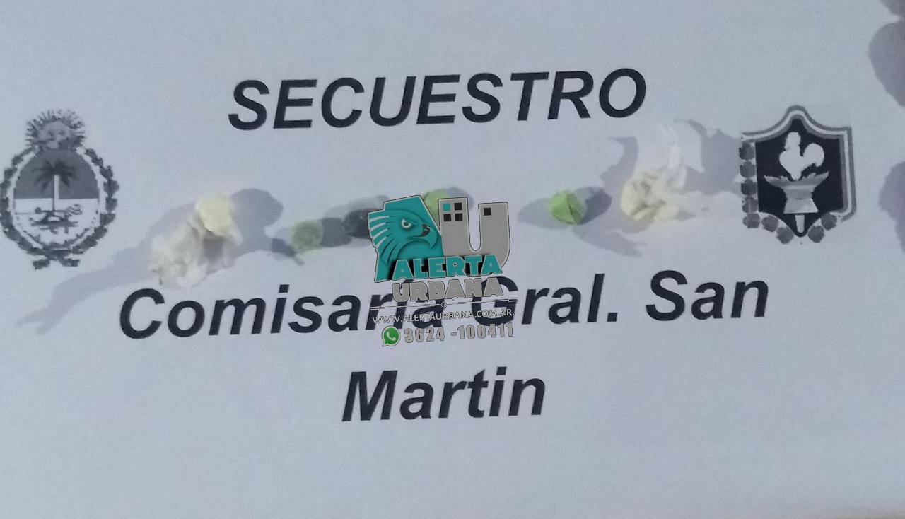 Gral. San Martín: Intentó entregarle pan con droga y pastillas a un familiar detenido.