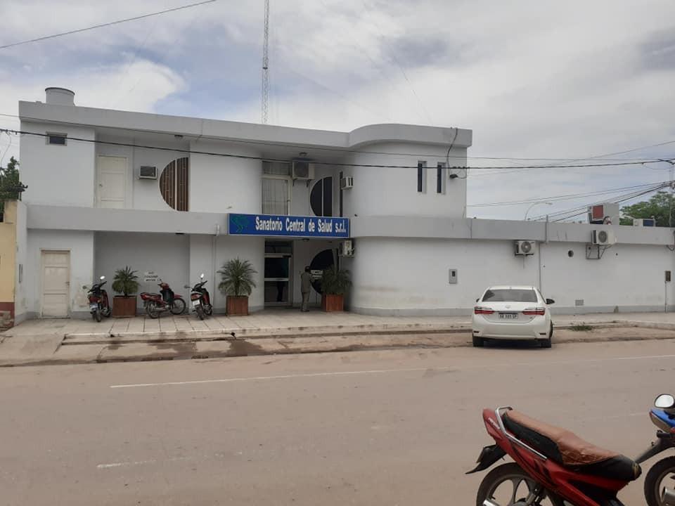 Villa Ángela: El Sanatorio Central cerrará sus puertas 3 dias por un caso positivo de COVID-19.