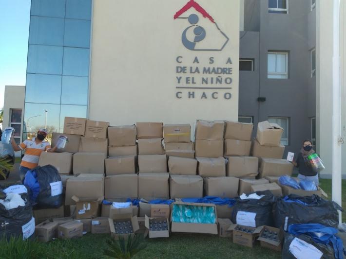 Ciudad Limpia busca entregar importantes donaciones de insumos hospitalarios en el interior provincial.