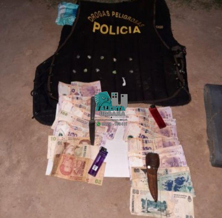 San Martín: intentó darse a la fuga porque tenía drogas