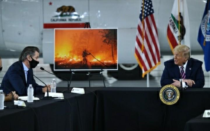 El duro relato del gobernador de California por los incendios forestales