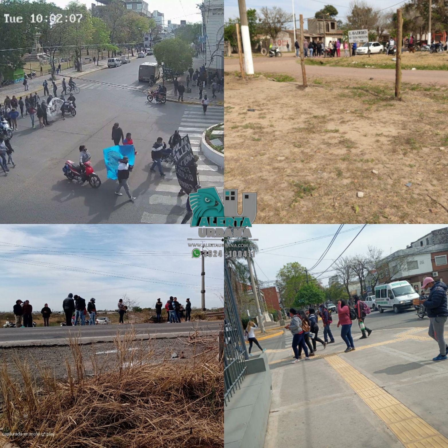 Panorama de manifestaciones en la Provincia del Chaco