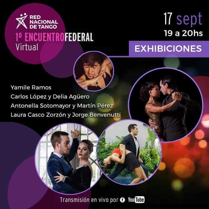 El 2x4 en las redes: Primer Encuentro Federal Virtual de Tango