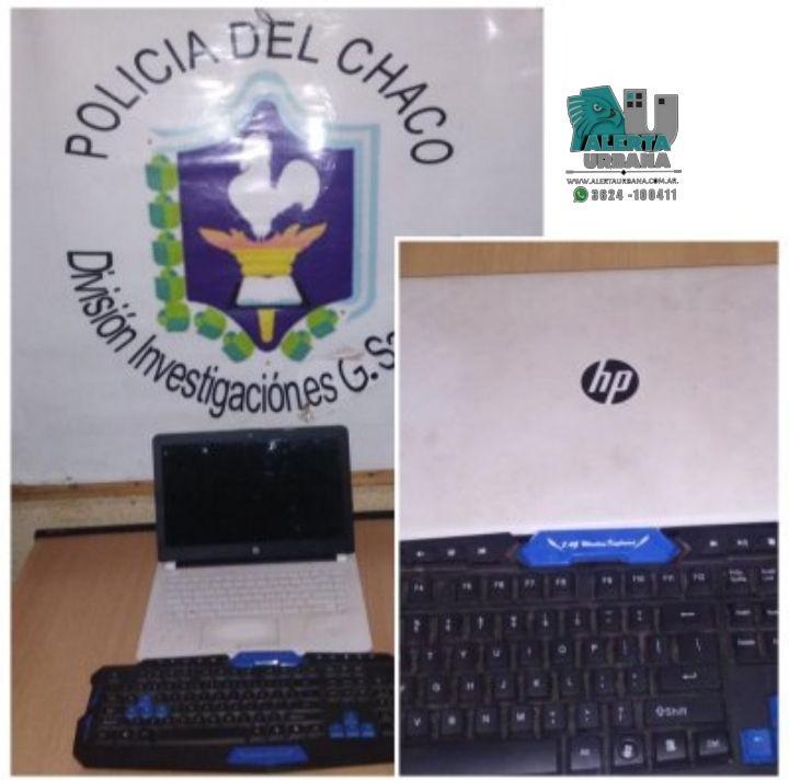San Martín: llevaba una computadora sustraída y fue detenido