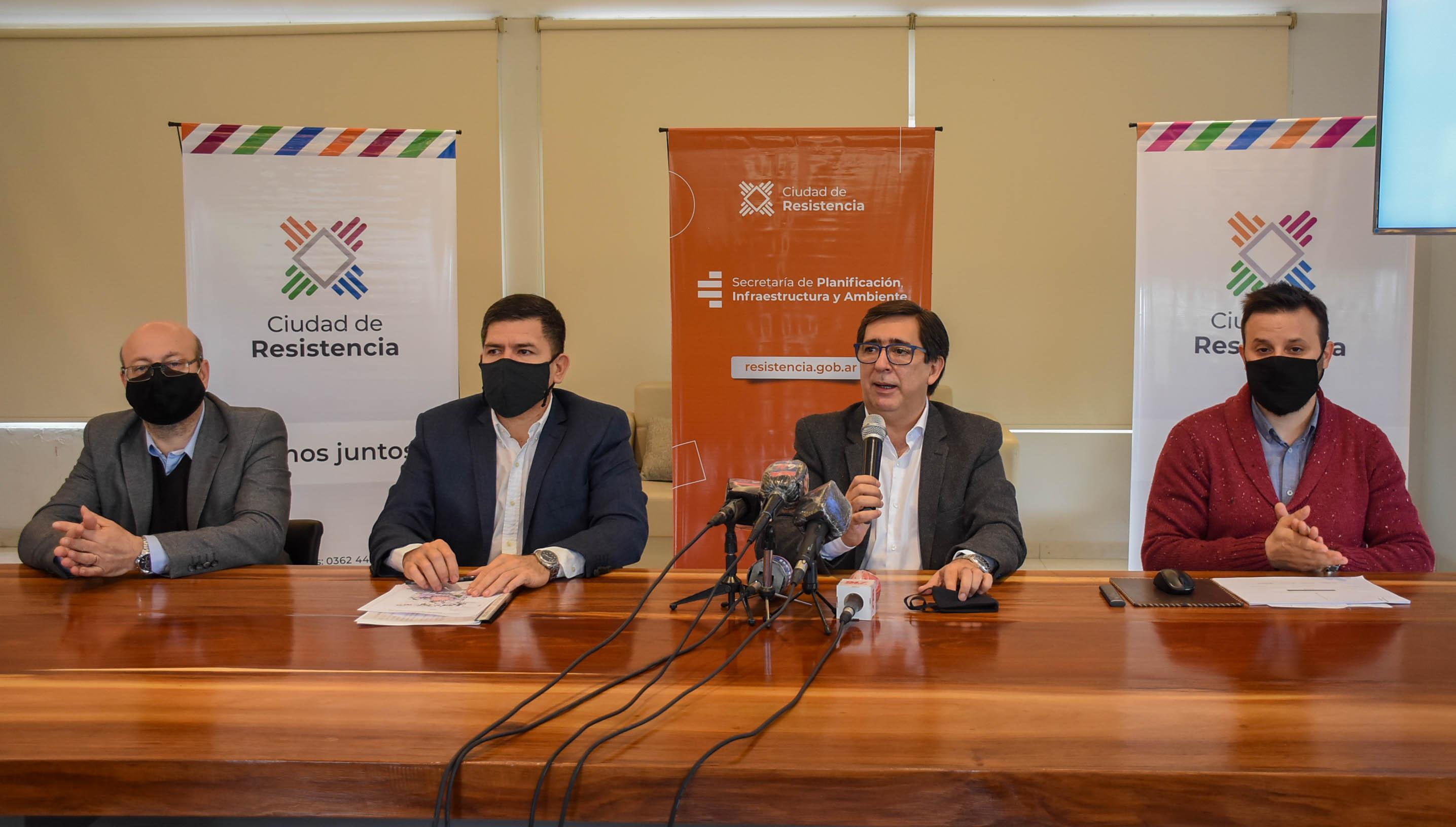 La Municipalidad de Resistencia presentó su nuevo Plan Director de Servicios Públicos