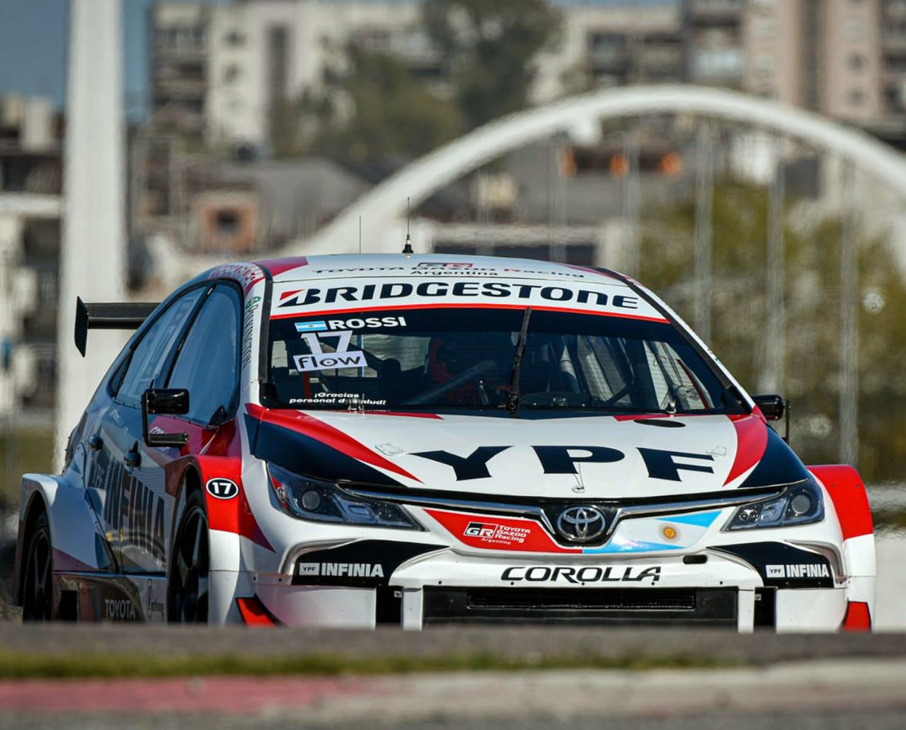 Sábado perfecto para Rossi en el regreso del STC 2000