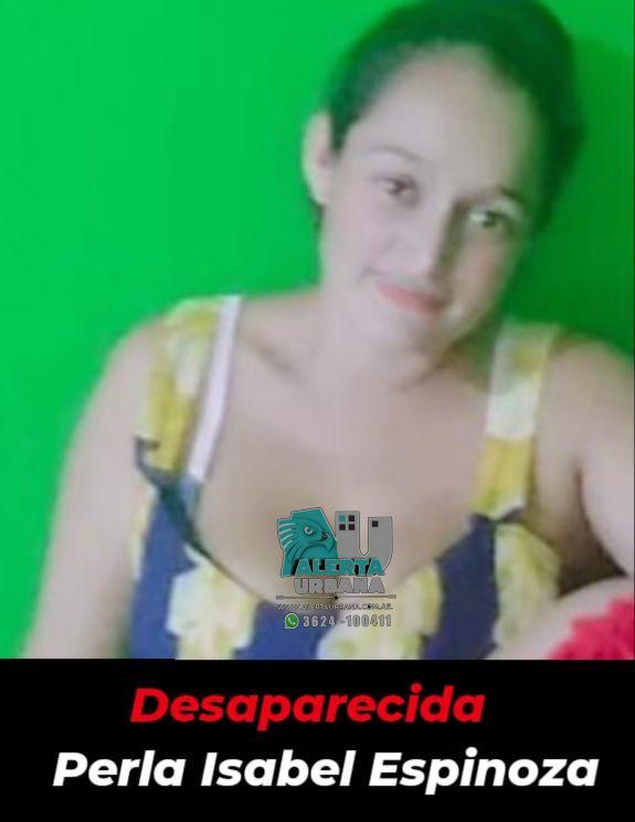 Sáenz Peña: se busca el paradero de Perla Isabel Espinoza