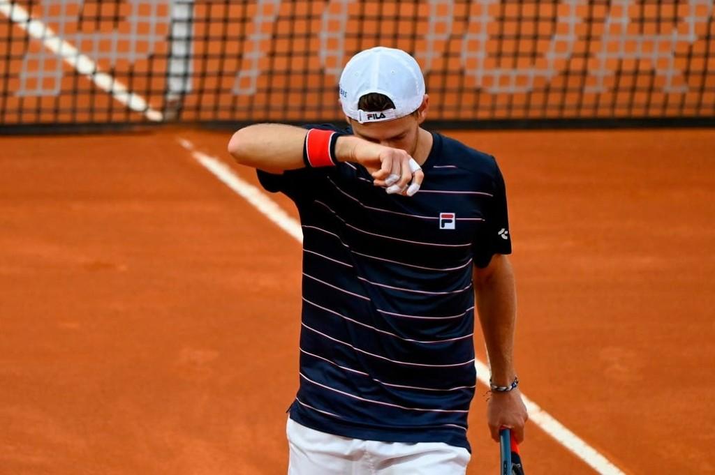 Masters 1000 de Roma: Diego Schwartzman dio pelea, pero no pudo ante Novak Djokovic y cayó en la final